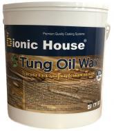 Масло тунговое Bionic House с карнаубским воском 0,25 л