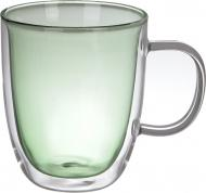 Набор чашек Sparkle Green 540 мл Flamberg Smart Kitchen