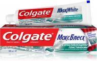 Зубна паста Colgate Макс Блиск відбілююча 100 мл