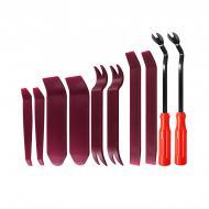 Набор инструментов съемников для снятия обшивки салона автомобиля Lesko 340G Burgundy (5941-18800)