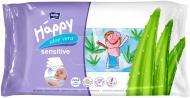 Дитячі вологі серветки Happy Sensetive Aloe Vera 56 шт.