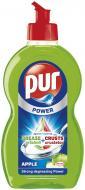 Засіб для ручного миття посуду Pur Power Apple 0,45л