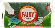 Губка для миття посуду Fairy  ORIGINAL 3 шт.