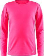 Термофутболка Craft Essential_Warm_RN_LS_Junior 1906631-720000 110/116 розовый