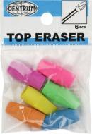 Гумка для олівців TOP 6 шт. 86616 Centrum