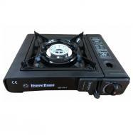 Портативная газовая горелка с пьезоподжигом Happy Home BDZ-155-A 2.1kw/h 1800kcal/h (300537)