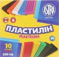 Пластилін  10 кольорів 230 г Astra