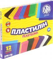 Пластилін  12 кольорів 276 г Astra