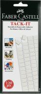 Клей  для багаторазового використання у квадратах TACK-IT 187093 Faber Castell