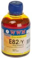 Чорнило WWM EPSON StPhoto R270/290 Yellow (E82/Y)