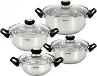 Набір посуду 8 предметів Bergamo RC011-8L Rotex