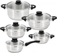 Набір посуду 10 предметів Milano RC022-10L Rotex