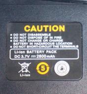 Аккумуляторная батарея Li-Ion Baofeng BF-888S 2500 мАч для рации Baofeng BF-888S