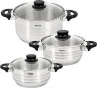 Набір посуду 6 предметів Milano RC022-6M Rotex