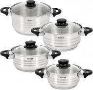Набір посуду 8 предметів Milano RC022-8L Rotex