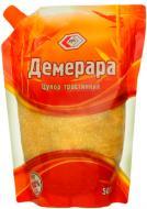 Цукор АТА Демерара тростинний коричневий 0,5 кг