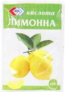 Кислота лимонна 100г 4820016850682