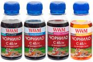 Набір чорнил WWM CANON PG440/CL-441 Black Pigment +C/M/Y (C45SET-4) різнокольоровий