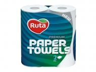 Паперові рушники Ruta Premium двошаровий 2 шт.