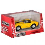 "Машинка Kinsmart ""Shelby Cobra 427"" Желтая (KT5322W(YELLOW))"