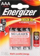 Батарейка Energizer Max E92 ААА 4 шт. (E300124200)