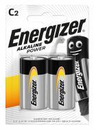 Батарейка Energizer Alk Power C (R14, 343) 2 шт. (E300152100)