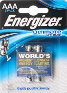Батарейка Energizer Ultimate Lithium ААА 2 шт. (639170)