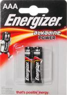 Батарейка Energizer Base ААА 2 шт. (AAA/LR03 FSB2(634138)