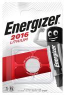 Батарейка Energizer Lithium CR2016 1 шт. (638710)