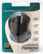Миша Greenwave Fiumicino USB (R0013753) black