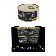 Консерва для дорослих котів PetSelect Adult Тунець та кальмар 70 г