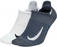 Носки Nike U NK MLTPLIER NS 2PR SX7554-924 р. S разноцветный