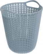 Корзина для мусора Knit 230102 серый 7 л