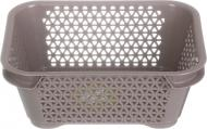 Кошик для зберігання А-7 mini basket сіро-коричневий 70x160x120 мм