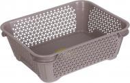 Кошик для зберігання Keeeper для зберігання А-6 mini basket сіро-коричневий 70x200x160 мм