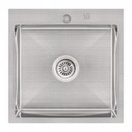 Кухонна мийка Lidz H5050 Brush 3.0 / 1.0 мм (LIDZH5050BRU3010) SD00041479