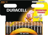 Батарейки Duracell AAA (R03, 286) 12 шт. (81417119)