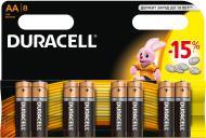 Батарейки Duracell AA (R6, 316) 8 шт. (81417083)