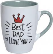 Чашка Best Dad 310 мл Bella Vita