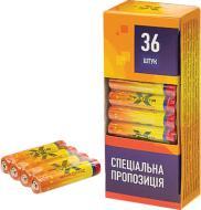 Батарейка X-Digital Longlife AA (R6, 316) 36 шт. (R6P 4S)