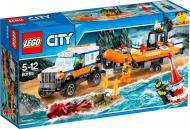Конструктор LEGO City Позашляховик 4х4 команди швидкого реагування 60165