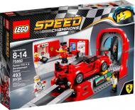 Конструктор LEGO Speed Champions Автомобіль Ferrari FXX K і центр розробки та проектування 75882