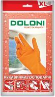 Перчатки Doloni хозяйственные с покрытием латекс XL (10)