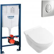Система інсталяції Grohe Rapid SL 38721001 + O.Novo 5660HR01