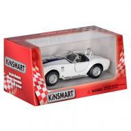 "Машинка Kinsmart ""Shelby Cobra 427"" Белая (KT5322W(WHITE))"