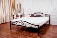 Ліжко Eagle E2516 Polo 140x200 см чорний