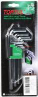 Набір ключів шестигранних Toptul 1,5-10 мм GAAL0911