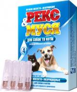 Краплі O.L.KAR інсекто-акарицидні для котів та собак Рекс&Муся №4 13383