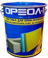 Мастика бітумно-каучукова Ореол-1 Фикс 20 кг