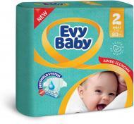 Подгузники Evy Baby Мини Джамбо упаковка 3-6 кг 80 шт.